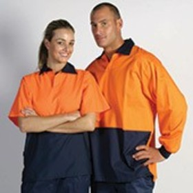 ** CLEARANCE ITEM** 'DNC' HiVis Two Tone Food Industry Jerkin
