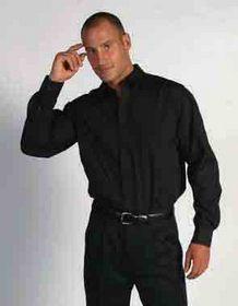 'DNC' Mens Long Sleeve Business Shirt