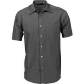 'DNC' Mens Premier Poplin Short Sleeve Business Shirt