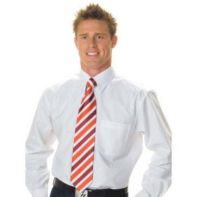 'DNC' Mens Long Sleeve Tonal Stripe Shirt