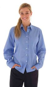 'DNC' Ladies Regular Collar Long Sleeve Blouse