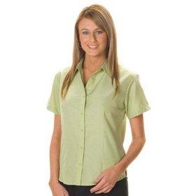 'DNC' Ladies Stretch Cool Breath Short Sleeve Shirt