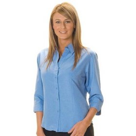 'DNC' Ladies Stretch Cool Breath ¾ Sleeve Shirt