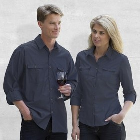 'Gear For Life' Ladies The Grange Long Sleeve Shirt