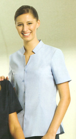 ** CLEARANCE ITEM ** - 'Totally Corporate' Ladies Short Sleeve Overblouse