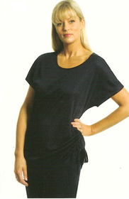 ** CLEARANCE ITEM ** - 'Totally Corporate' Ladies Side Tie Knit Top