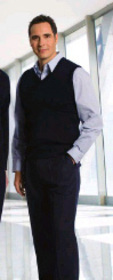 ** CLEARANCE ITEM ** 'Totally Corporate' Men's Regular Collar Long Sleeve Shirt
