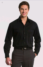 ** CLEARANCE ITEM ** 'Totally Corporate' Men's Stretch Long Sleeve Shirt