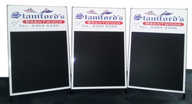 A Frame Full Colour Print Signage