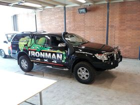 Vehicle Signage - Full Colour Wrap