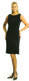 ** CLEARANCE ITEM ** - 'Totally Corporate'  Ladies Microfibre Shift Dress