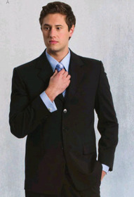 ** CLEARANCE ITEM ** 'Totally Corporate' Men's Long Sleeve French Cuff Shirt