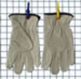'DNC' Cow Grain Leather Glove