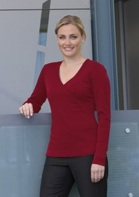 'Gear For Life' Ladies Merino Crossover Top