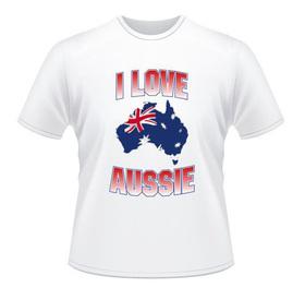 I Love Aussie T-shirt