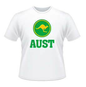 AUST Green and Gold T-shirt