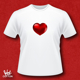 'Red Heart' T-shirt