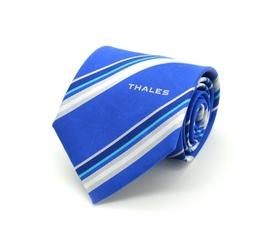 'Hot Cotton' Customised Woven Silk Tie Sample 04