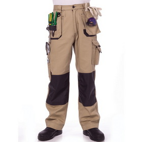 'DNC' Duratex Cotton Duck Weave Tradie Cargo Pants with Twin Holster Pockets