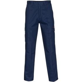 'DNC' Middle Weight Cotton Double Slant Cargo Pants
