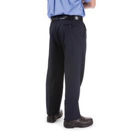 'DNC' Pleat Front Permanent Press Trousers