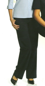** CLEARANCE ITEM ** - 'Totally Corporate'  Ladies Elastic Waist Microfibre Pant