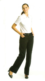 ** CLEARANCE ITEM ** - 'Totally Corporate'  Ladies Curve Pant