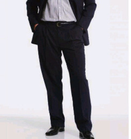 ** CLEARANCE ITEM ** - 'Totally Corporate' Mens Polyester Viscose Trouser