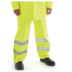 'DNC' HiVis Breathable Anti-Static Pants 3M Reflective Tape