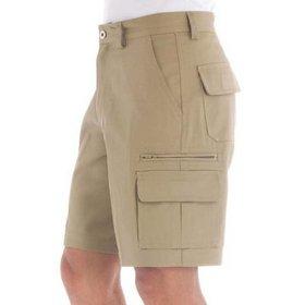 'DNC' Cotton Drill Cargo Shorts