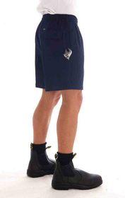 'DNC' Drill Elastic Drawstring Shorts
