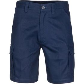 'DNC' Middle Weight Cotton Double Slant Cargo Shorts