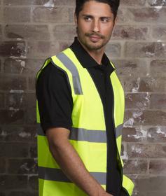 'Aussie Kings' Hi-Vis Optimus Vest with Reflective Tape