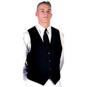 'DNC' Mens Black Vest