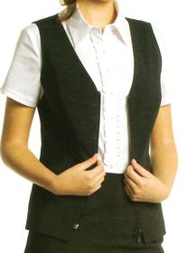 ** CLEARANCE ITEM ** - 'Totally Corporate'  Ladies Zip Vest