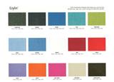 Ezylin Fabric Colour Range  ddd