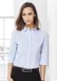 'Biz Collection' Ladies Berlin ¾ Sleeve Shirt