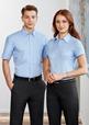 'Biz Collection' Mens Chevron Short Sleeve Shirt