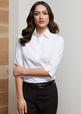 'Biz Collection' Ladies Ambassador ¾ Sleeve Shirt