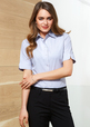 'Biz Collection' Ladies Ambassador Short Sleeve Shirt