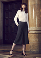 'Biz Corporate' Ladies Mid Length Culotte
