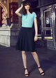 'Biz Corporate' Ladies Bandless Flared Skirt