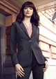 'Biz Corporate' Ladies 1 Button Longline Jacket