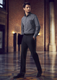 'Biz Corporate' Mens Slim Fit Flat Front Pant