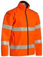 'Bisley Workwear'  Taped HiVis Lightweight Ripstop Rain Jacket