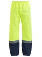 'Bisley Workwear' HiVis Shell Rain Pant