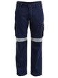 'Bisley Workwear' Mens 3M Taped Cool Vented Light Weight Cargo Pant