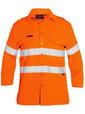'Bisley Workwear'  TenCate Tecasafe® Plus Taped Hi Vis FR Vented Long Sleeve Shirt