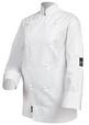'Pro Chef' White Long Sleeve Chef Jacket