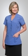 'City Collection' Ladies Short Sleeve City Stretch Spot Tunic